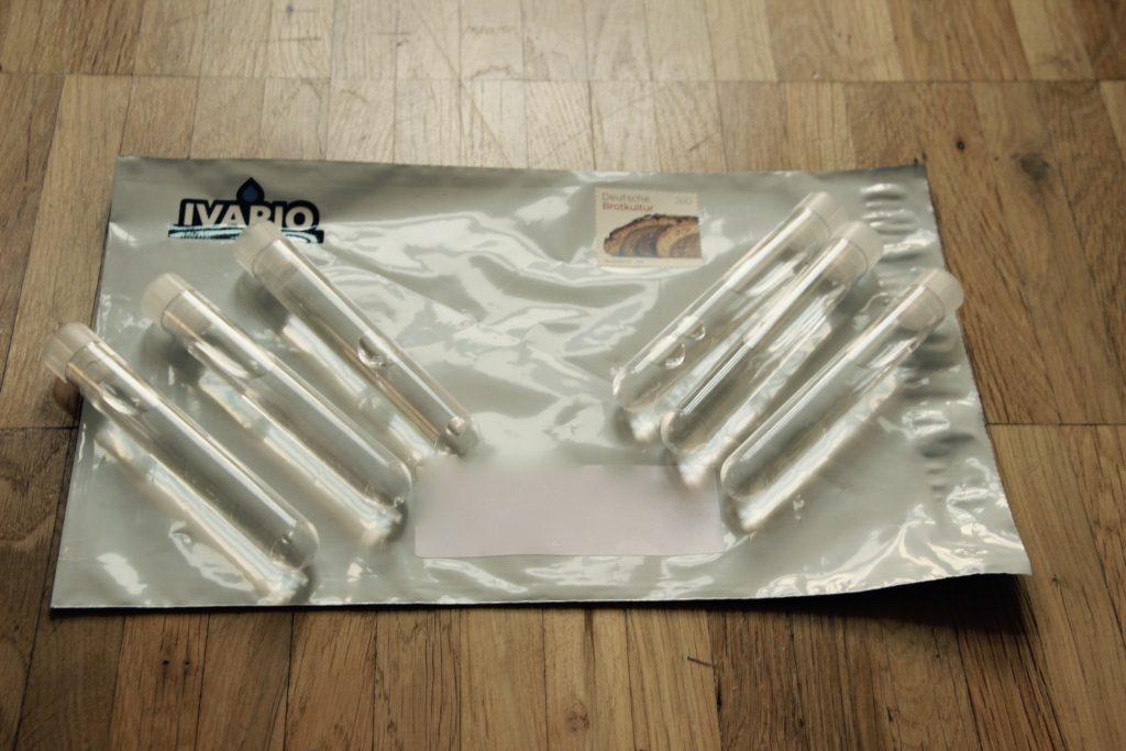 Wassertest-Teströhrchen-Trinkwassertest-Kranwasser-