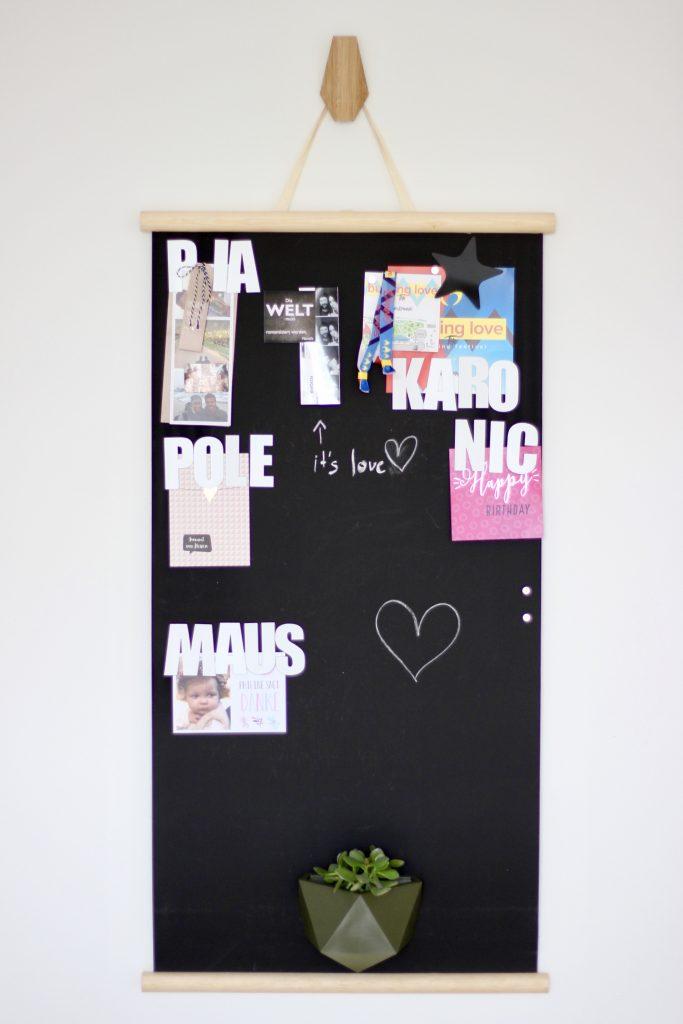 Deko Magnet Poster Blogger Die Liebe zum Detail