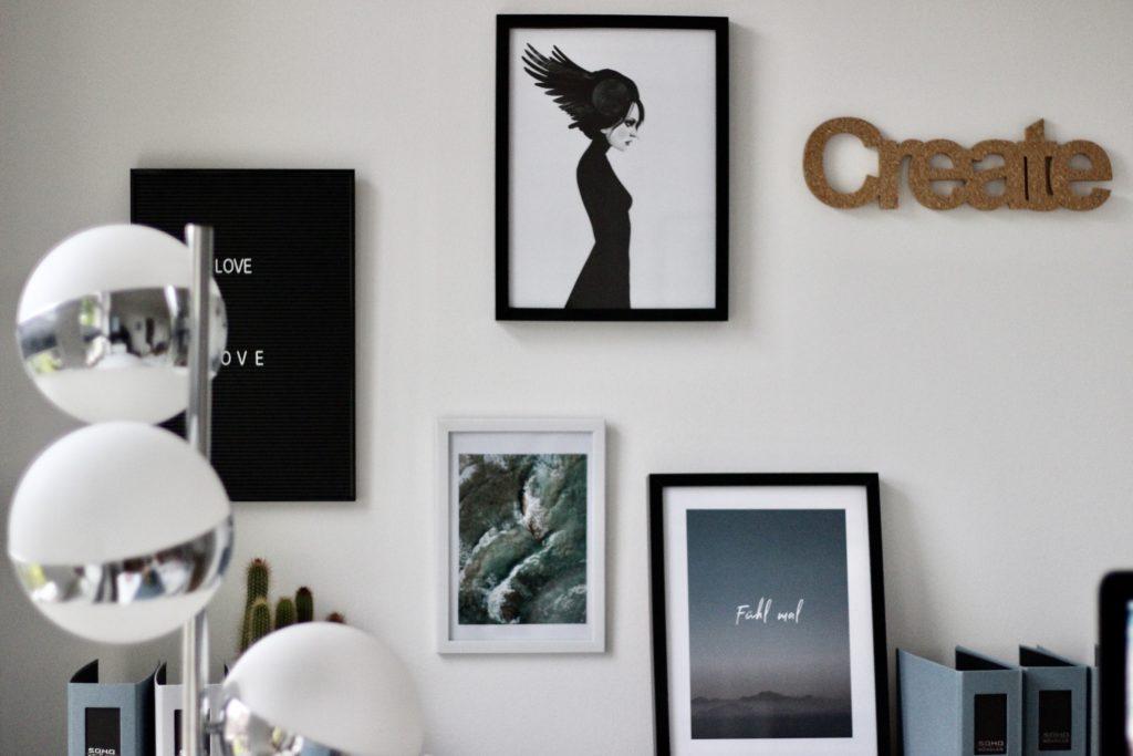 Deko Fühl mal Poster Melarima / Art Lovin
