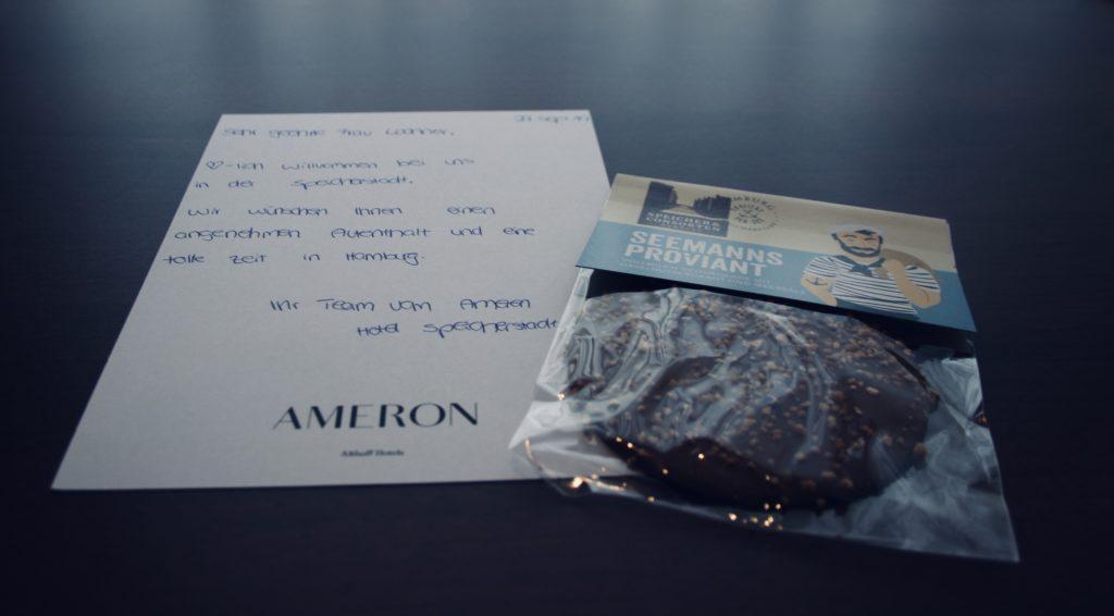 Ameron Begrüßung