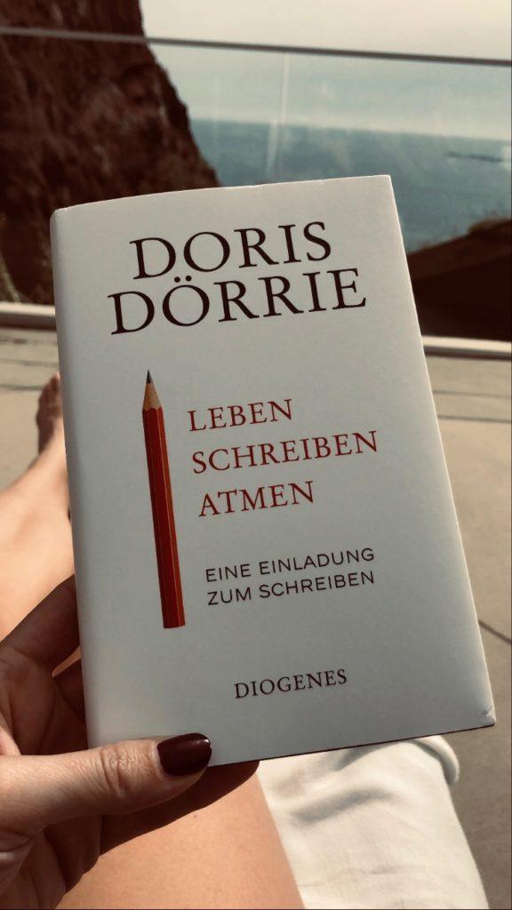 Doris Dörrie - Leben Schreiben Atmen Rezension Lesenswerte Lektüre